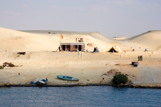 Suez Canal protected by Egyptian Army