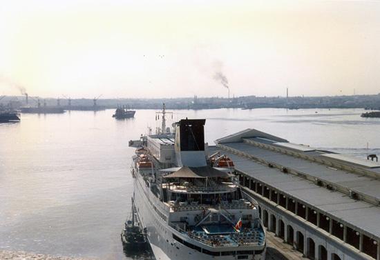 Harbor Infrastucture in Havana