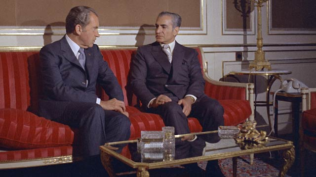 Nixon and the Shah of Iran